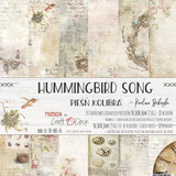 Craft O' Clock - 12x12 Paper Collection 6/Pkg - Hummingbird Song (CC-ZD-HBS-F6)
