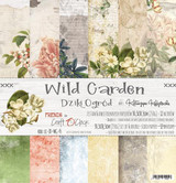 Craft O' Clock - 12x12 Paper Collection 6/Pkg - Wild Garden (CC-ZD-WG-F5)