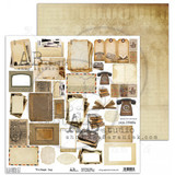 "AB Studios - 12x12 Elements to cut out - ""Vintage Day"" (VNTGDAY-ELMT)"