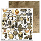 "AB Studios - 12x12 Elements to cut out - ""Steampunk Love"" (STMPKLV-ELMT)"