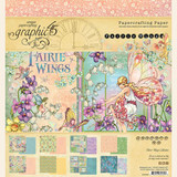 "Graphic 45 - Double-Sided Paper Pad 8""X8"" 24/Pkg - Fairie Wings (G4502082)"