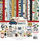 Echo Park - 12x12 Collection Kit - Scenic Route (SR212016)