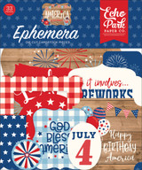 Echo Park - Ephemera 33/pkg - America (AM213024)