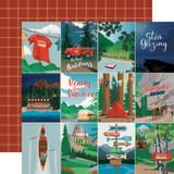 "Carta Bella - Summer Camp - 12x12 Cardstock - 3""X4"" Journaling Cards (CBSC119002)"