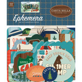 Carta Bella - Summer Camp - Ephemera Icons (CBSC119024)