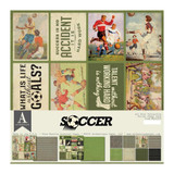 Authentique - All-Star Paper Pack -Soccer (ALL020)