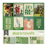 Authentique - All-Star Paper Pack Gold & Tennis (ALL022)