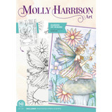Crafter's Companion - Stamps By Molly Harrison - Garden Of Wishes (MHGARD)