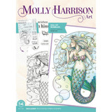 Crafter's Companion - Stamps By Molly Harrison - Sea of Bubbles (MHSEAB)