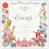 Craft Consortium - Double Sided Paper Pack 6x6 - Circus (PPAD017B)