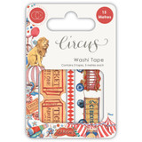 Craft Consortium - Washi Tape 3/Pkg - Circus (CWTPE004)