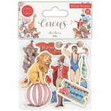 Craft Consortium - Laser-Cut Wooden Shapes 10/Pkg - Circus (CWDNS008)