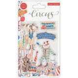 Craft Consortium - A5 Clear Stamps - Circus - Greatest Show (CSTMP035)