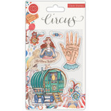 Craft Consortium - A5 Clear Stamps - Circus - Fortune Teller (CSTMP034)