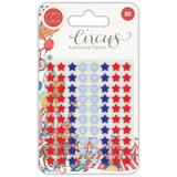 Craft Consortium - Adhesive Paarls 80/Pkg - Circus - Stars (CAPRL003)