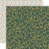 Carta Bella - School Days 12x12 Cardstock - Scattered Pencils (CBDS118 7)