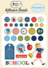 Carta Bella - Decorative Brads - School Days (DS118020)