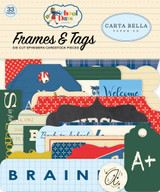 Carta Bella - Frames & Tags 33/Pkg - School Days (DS118025)