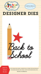 Carta Bella - School Days - Die - Back To School (DS118041)