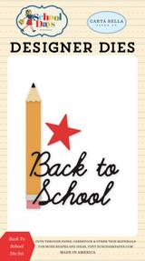 Carta Bella - School Days - Die - Back To School (DS118041)