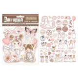Stamperia - Die-Cut Chippies - 60/pcs - Little Girl (DFLDC08)
