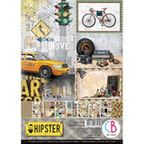 Ciao Bella - Creative Pack A4 8/Pkg - Hipster (CBCL035)
