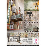 Ciao Bella - Double-Sided Creative Pack A4 8/Pkg - Modern Times ( CBCL036)