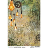 Ciao Bella - Decoupage Rice Paper Sheet A4 - Modern Times (CBRP112)