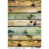 Ciao Bella - Decoupage Rice Paper Sheet A4 - Modern Times - Industrial Wood (CBRP115)