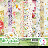 "Ciao Bella - Double-Sided Paper Pack 6""X6"" 24/Pkg Microcosmos (CBQ037)"