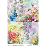 Ciao Bella - Decoupage Rice Paper A4 - Microcosmos - Cards (CBRP125)