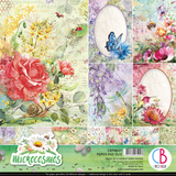 "Ciao Bella - 12""X12"" Double-Sided Paper Pack 11/pkg - Microcosmos (CBPM037)"