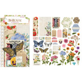 BoBunny - Noteworthy Die-Cuts 54/Pkg - Botanical Journal (7311106)