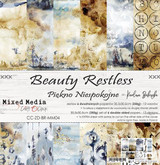 "Craft O Clock - Paper Collection Set 12""*12"" - Beauty Restless (CC-ZD-BR-MM04)"