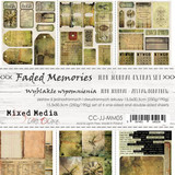 Craft O'Clock -Junk Journal- Set 7/Pkg - Faded Memories (CC-JJ-MM05)