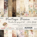 Craft O' Clock - 6x6 Paper Collection 18/Pkg - Vintage Bisou (CC-ZPM-VB-F3)