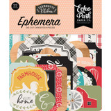 Echo Park - Cardstock Ephemera 33/Pkg - Farmhouse Kitchen (FK216024)