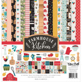 Echo Park - Paper Collection Kit 12x12 - Farmhouse Kitchen (FK216016)