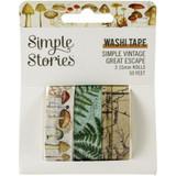Simple Stories - Washi Tape 3/Pkg - Simple Vintage Great Escape (VGE13221)
