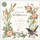 Craft Consortium - Double Sided Paper Pack 6x6 - At Home in the Wildflowers (PPAD018B)