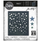 Sizzix Thinlits Die Set 4PK - Falling Stars by Tim Holtz (664732)