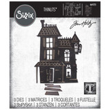 Sizzix Thinlits Die Set 3PK - Haunted by Tim Holtz (664735)