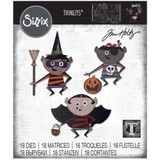 Sizzix Thinlits Die Set 18PK - Trick or Treater by Tim Holtz (664751)