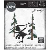 Sizzix Thinlits Die Set 6PK - Thin Ice by Tim Holtz (664750)