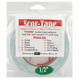 "SCOR-TAPE Double-Sided Tape - 1 roll 1/2""x 27yrds"