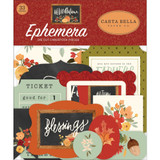 Carta Bella - Ephemera Die Cuts 33/Pkg - Hello Autumn (EA122024)