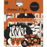Carta Bella - Cardstock Frames & Tags Die Cuts 33/Pkg - Halloween Market (HM121025)