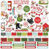 Simple Stories - Cardstock Element Sticker 12x12 - North Pole (VNP13601)