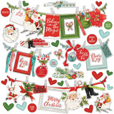 Simple Stories - Cardstock Border Sticker 12x12 - North Pole (VNP13602)