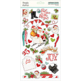 Simple Stories - Chipboard Sticker 6x12 - North Pole (VNP13620)